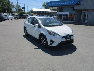 Used 2018 Toyota Prius c LEATHER, SUNROOF, NAV, LOW MILEAGE BEAUTY!! for sale in Kingston, ON