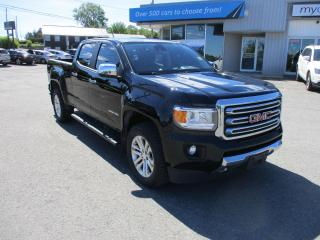 Used 2017 GMC Canyon SLT LEATHER, NAV, HEATED SEATS, RARE DIESEL!! for sale in Kingston, ON