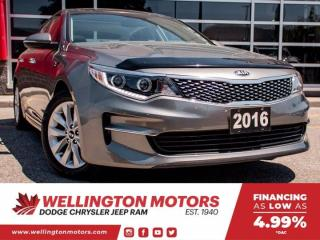 Used 2016 Kia Optima EX --> Low Low K's --> Winter Tires Incl. !! for sale in Guelph, ON