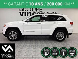 Used 2016 Jeep Grand Cherokee LIMITED ** GARANTIE 10 ANS ** Besoin d'espace sans sacrifier le luxe? Ceci est pour vous. for sale in Shawinigan, QC