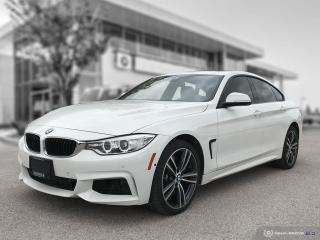 Used 2016 BMW 4 Series 435i xDrive Gran Cpe Local Lease! for sale in Winnipeg, MB