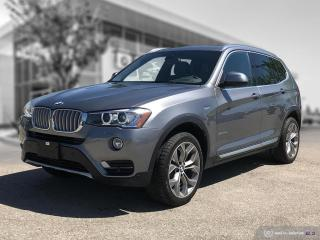 Used 2017 BMW X3 xDrive28i Local Lease Return! Enhanced! for sale in Winnipeg, MB