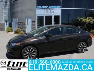 Used 2014 Honda Civic Sedan Touring for sale in Gatineau, QC