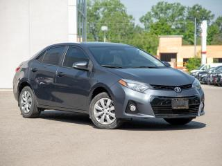 Used 2015 Toyota Corolla S Package - Advantage + Certified Local Trade for sale in Welland, ON