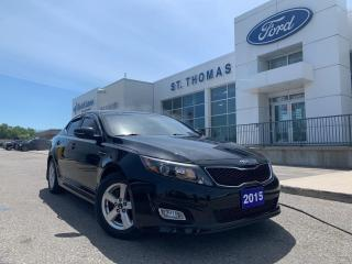 Used 2015 Kia Optima LX for sale in St Thomas, ON