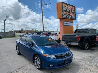 Used 2012 Honda Civic Si**ONLY 117KMS**NAVIGATION**CERTIFIED for sale in London, ON