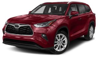 New 2020 Toyota Highlander LIMITED  for sale in Ancaster, ON