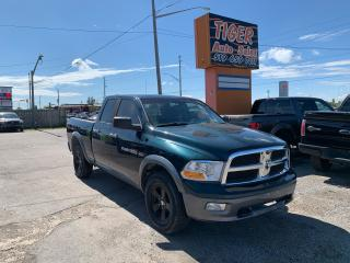 Used 2011 RAM 1500 Outdoorsman 4X4**ONLY 101KMS**QUAD CAB**5.7L HEMI**CERTIFIED for sale in London, ON