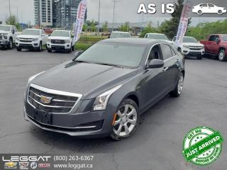 Used 2015 Cadillac ATS AS TRADED | 2.0L Turbo! for sale in Burlington, ON