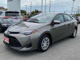 Used 2017 Toyota Corolla LE-ONE OWNER+BOUGHT+SERVICED HERE! for sale in Cobourg, ON