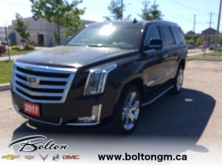 Used 2017 Cadillac Escalade Luxury - Leather Seats - $457 B/W for sale in Bolton, ON