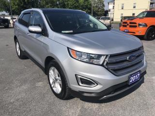 Used 2017 Ford Edge SEL Panoramic Moonroof, Heated seats for sale in Cornwall, ON