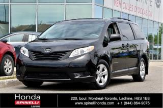 Used 2013 Toyota Sienna CE 7 PASSAGER BAS KM AC*AUTO*7PASSAGERS*GROUPE ELECTRIQUE*++ for sale in Lachine, QC