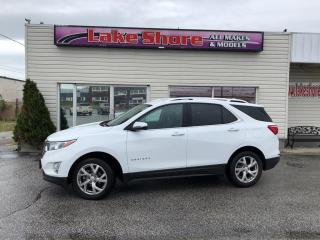 Used 2018 Chevrolet Equinox Premier ALL WHEEL DRIVE for sale in Tilbury, ON