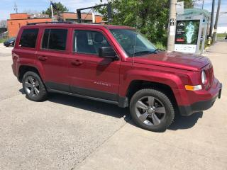 Used 2015 Jeep Patriot high altitude,awd,leather,safety3yrs warranty incl for sale in Toronto, ON