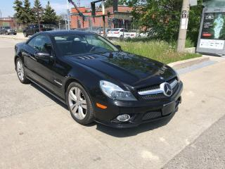 Used 2011 Mercedes-Benz SL 550 CONVERTABLE,115KM,SAFETY+3YEARS WARRANTY INCLUDED for sale in Toronto, ON