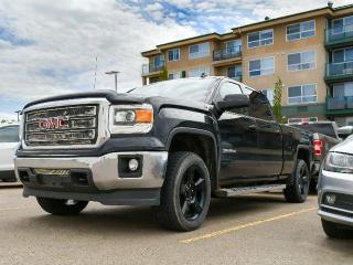 Used 2014 GMC Sierra 1500 SLE 4x4 Crew Cab Pickup 143.5 in. WB for sale in Red Deer, AB