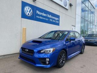 Used 2015 Subaru WRX W/ SPORT TECH PKG / SUNROOF / LEATHER / 6 M/T for sale in Edmonton, AB