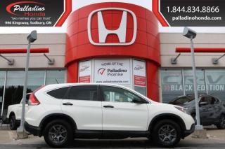 Used 2014 Honda CR-V LX- ALL WHEEL DRIVE, HEATED SEATS, BACKUP CAMERA for sale in Sudbury, ON