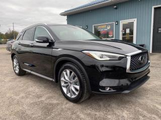 Used 2019 Infiniti QX50 LUXE for sale in Brockville, ON