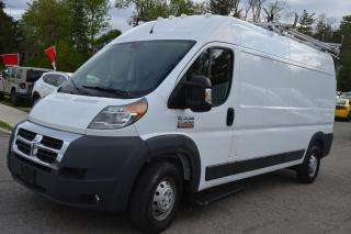 Used 2017 RAM Cargo Van 2500 High Roof  159 WB for sale in Richmond Hill, ON