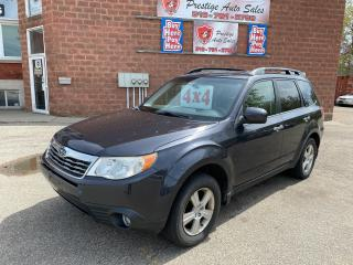 Used 2010 Subaru Forester X Touring/2.5L/AWD/NO ACCIDENT/SAFETY+WARRANTY INC for sale in Cambridge, ON