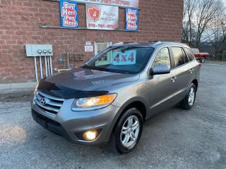 Used 2012 Hyundai Santa Fe GL/AWD/3.5L/NO ACCIDENT/SAFETY+WARRANTY INCLUDED for sale in Cambridge, ON