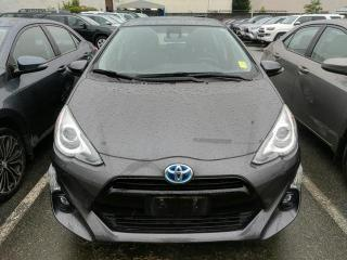 Used 2016 Toyota Prius c One Owner, No Accidents, Service History for sale in North Vancouver, BC