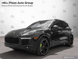 Used 2017 Porsche Cayenne E-Hybrid S- Winter tires- Nav-Pano Roof- Platinum for sale in Bolton, ON