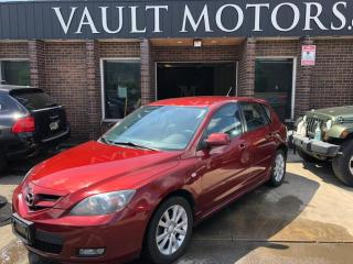 Used 2009 Mazda MAZDA3 1 YEAR ENGINE/TRANSMISSION WARRANTY INCLUDED for sale in Brampton, ON