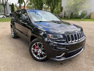 Used 2014 Jeep Grand Cherokee SRT8 | Moonroof | Heated/Cooled Seats | Remote Sta for sale in Edmonton, AB