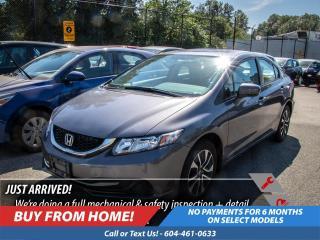 Used 2015 Honda Civic Sedan EX for sale in Port Moody, BC