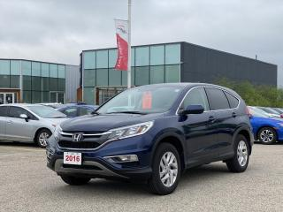 Used 2016 Honda CR-V Accident Free, One Owner CR-V SE Leased new Right Here at Waterloo Honda! Certified Powertrain Warra for sale in Waterloo, ON