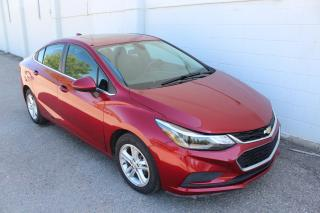 Used 2017 Chevrolet Cruze LT Auto GUARANTEED APPROVAL for sale in Regina, SK