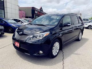 Used 2016 Toyota Sienna XLE LIMITED 7-Pass AWD|NAVI|DUAL-ROOFS|1 OWNER| for sale in North York, ON