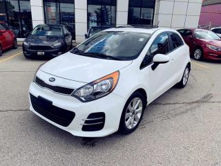 Used 2016 Kia Rio 5dr HB Auto EX+|SUNROOF|BACKUP CAMERA|HEAT SEATS| for sale in North York, ON