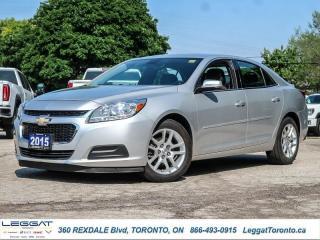 Used 2015 Chevrolet Malibu LT  - Bluetooth -  SiriusXM for sale in Etobicoke, ON