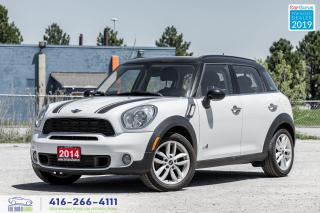 Used 2014 MINI Cooper Countryman S|Manual|Leather|Pano.Roof|Keyless Entry for sale in Bolton, ON