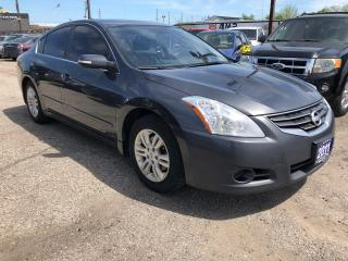 Used 2011 Nissan Altima S, ACCIDENT FREE, LEATHER, 3 YR WARRANTY,CERTIFIED for sale in Woodbridge, ON