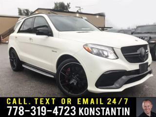 Used 2017 Mercedes Benz GLE AMG 63 S 4MATIC - Navigation for sale in Maple Ridge, BC