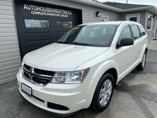 Used 2017 Dodge Journey Canada Value Pkg for sale in Kingston, ON