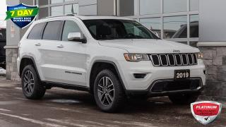 Used 2019 Jeep Grand Cherokee Limited LIMITED LEATHER SEATS SUNROOF for sale in Innisfil, ON