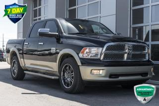 Used 2012 RAM 1500 Laramie Longhorn/Limited Edition RAM BOX HEATED/COOLED LEATHER SEATS for sale in Innisfil, ON
