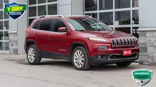 Used 2015 Jeep Cherokee Limited LIMITED LEATHER SEATS for sale in Innisfil, ON