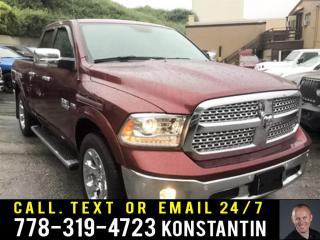Used 2018 RAM 1500 Laramie - Cooled Seats - Bluetooth for sale in Maple Ridge, BC