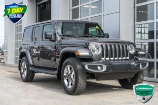 Used 2018 Jeep Wrangler Unlimited Sahara for sale in Innisfil, ON