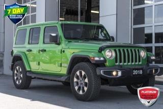 Used 2018 Jeep Wrangler Unlimited Sahara DUAL TOPS VERY CLEAN for sale in Innisfil, ON