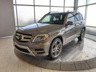 Used 2013 Mercedes-Benz GLK-Class Low Mileage - Leather, Navigation, Reverse Camera! for sale in Edmonton, AB