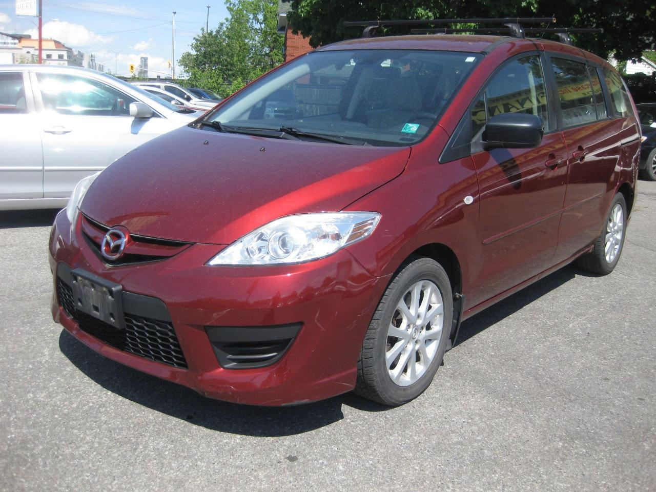 "2008 Mazda MAZDA5 GS Manual transmission being sold ""AS IS"""