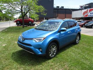 Used 2016 Toyota RAV4 HYBRID ~ LIMITED ~ 360 CAMERAS ~ BSM ~ NAV for sale in Toronto, ON